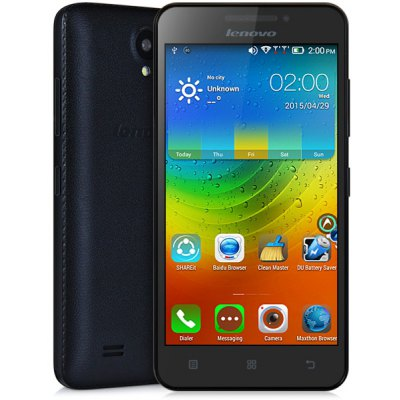 Lenovo A3600D 4.5 inch Android 4.4 3G Smartphone MTK6582 1.3GHz Quad Core 4GB RO