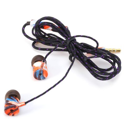 Гаджет   Universal 1.2m Round Cable In - ear Earphone 3.5mm Jack Headphone with Mic iPhone Headsets