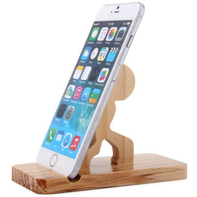 ФОТО Solid Wood Back Up Type Electronic Cigarette Box Mod Display Stand Mobile Phone Shelf