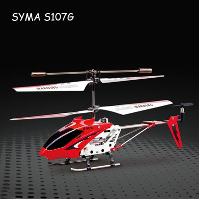 Гаджет   Syma S107G 3CH Infrared Remote Control Helicopter Alloy Copter with Built - in Gyro RC Helicopters