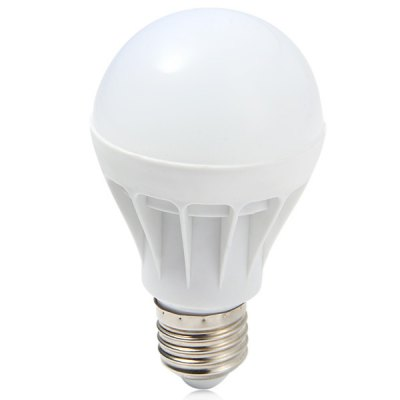 3W E27 3000K Soft White LED Light Bulb with Cooling Fin ( 280Lm AC 220  -  240V )LED Light Bulbs<br>3W E27 3000K Soft White LED Light Bulb with Cooling Fin ( 280Lm AC 220  -  240V )<br><br>Base Type: E27<br>Type: Ball Bulbs<br>Output Power: 3W<br>Actual Lumen(s): 280Lm<br>Features: Low Power Consumption, Energy Saving, Long Life Expectancy<br>Function: Studio and Exhibition Lighting, Commercial Lighting, Home Lighting<br>Available Light Color: Warm White<br>Sheathing Material: Plastic<br>Product Weight: 0.020 kg<br>Package Weight: 0.060 kg<br>Product Size (L x W x H): 10.7 x 6 x 6 cm / 4.21 x 2.36 x 2.36 inches<br>Package Size (L x W x H): 12 x 7 x 7 cm / 4.72 x 2.75 x 2.75 inches<br>Package Contents: 1 x Bubble Ball Bulb