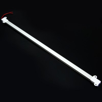 50CM 18W 36 x SMD 5630 LED Tube Light 1200Lm 3000  -  3500K DC 12V Water Resistant Ligth TubeLED Strips<br>50CM 18W 36 x SMD 5630 LED Tube Light 1200Lm 3000  -  3500K DC 12V Water Resistant Ligth Tube<br><br>Base Type: Wiring<br>Type: Light Bars<br>Output Power: 18W<br>Emitter Type: SMD-5630 LED<br>Total Emitters: 36<br>Actual Lumen(s): 1200Lm<br>Wavelength/Color Temperature: 3000-3500K<br>Voltage (V): DC 12<br>Features: IP-65 Water-resistant standard, Long Life Expectancy, Low Power Consumption, Energy Saving<br>Function: Studio and Exhibition Lighting, Commercial Lighting, Home Lighting<br>Available Light Color: Warm White<br>Sheathing Material: Silicone<br>Product Weight: 0.064 kg<br>Package Weight: 0.12 kg<br>Product Size (L x W x H): 50 x 3.3 x 1.1 cm / 19.65 x 1.30 x 0.43 inches<br>Package Size (L x W x H): 51 x 5 x 2 cm / 20.04 x 1.97 x 0.79 inches<br>Package Contents: 1 x Light Tube