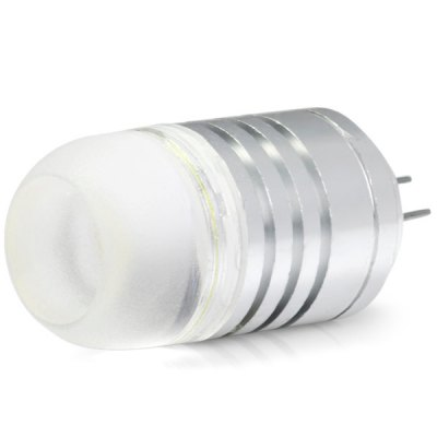 G4 4W 380Lm 6500K AC 12V LED COB Car Bulb Cabinet Dome Light ( White Light )LED Light Bulbs<br>G4 4W 380Lm 6500K AC 12V LED COB Car Bulb Cabinet Dome Light ( White Light )<br><br>Type: Car Light<br>Car light type: Decorative Lamp, Dome Light<br>Connector: G4<br>Lumens: 380Lm<br>LED: COB<br>Color Temp: 6500K, 3000K<br>Available Light Color: Warm White, Cold White<br>Wattage (W): 4<br>Voltage (V): AC 12V<br>Features: Spotlight, Easy to use, Low Power Consumption<br>Sheathing Material: Glass<br>Product weight: 0.013 kg<br>Package weight: 0.04 kg<br>Product size (L x W x H): 4.1 x 1.7 x 1.7 cm / 1.61 x 0.67 x 0.67 inches<br>Package size (L x W x H): 5 x 3 x 3 cm / 1.97 x 1.18 x 1.18 inches<br>Package Contents: 1 x LED Car Light