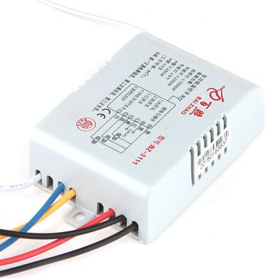 Гаджет   3 Channels Remote Control Light Switch for 200W LED / 1000W Tungsten Filament Bulb ( 220  -  240V ) LED Accessories