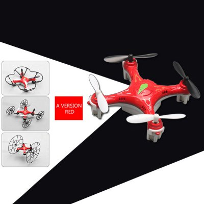 ФОТО 668  -  Q5 4 in 1 Conversion 2.4G 4CH RC Quadcopter 6 Axis Gyro Air - ground Wall Climbing Drone