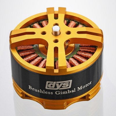 DYS BGM4114  -  100 Gimbal Brushless Outrunner Motor for RC AircraftMulti Rotor Parts<br>DYS BGM4114  -  100 Gimbal Brushless Outrunner Motor for RC Aircraft<br><br>Model: DYS<br>Type: Motor<br>Feature: Tools/accessories of radio control series toy<br>Age: Small parts not for chidren under 3 years<br>Product Weight: 0.090 kg<br>Package Weight: 0.2 kg<br>Package Size (L x W x H): 12 x 7 x 5 cm / 4.72 x 2.75 x 1.97 inches<br>Package Contents: 1 x Motor, 1 x Cable, 8 x Screw