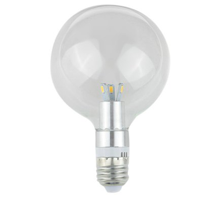 Zweihnder E27 1000Lm 12W 6 SMD 5730 LEDs Bulb Light High Brightness Glass Bulb ( Warm White )LED Light Bulbs<br>Zweihnder E27 1000Lm 12W 6 SMD 5730 LEDs Bulb Light High Brightness Glass Bulb ( Warm White )<br><br>Brand : Zweihnder<br>Base Type: E27<br>Type: Ball Bulbs<br>Output Power: 12W<br>Emitter Type: SMD-5730 LED<br>Total Emitters: 6<br>Theoretical Lumen(s): 1100Lm<br>Actual Lumen(s): 1000Lm<br>Wavelength/Color Temperature: 3000-3500K<br>Voltage (V): AC 220-240<br>Angle: 360 degree<br>Appearance: Glass lampshade<br>Features: Low Power Consumption, Energy Saving, Long Life Expectancy<br>Function: Studio and Exhibition Lighting, Commercial Lighting, Home Lighting<br>Available Light Color: Warm White<br>Sheathing Material: Glass<br>Product Weight: 0.051 kg<br>Package Weight: 0.1 kg<br>Product Size (L x W x H): 13.5 x 9.3 x 9.3 cm / 5.31 x 3.65 x 3.65 inches<br>Package Size (L x W x H): 15 x 10.5 x 10.5 cm / 5.90 x 4.13 x 4.13 inches<br>Package Contents: 1 x 1 x Zweihnder Glass Globe Bulb