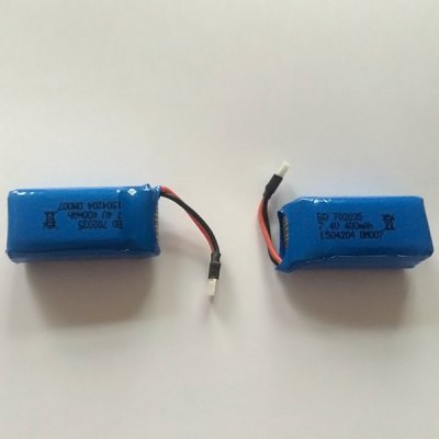 ФОТО Spare 7.4V 400mAh Lipo Battery Fitting for DM007 RC Quadcopter