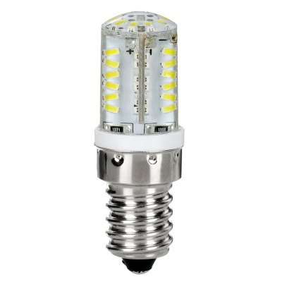 2 x 3.5W E14 SMD 3014 58 LEDs 180Lm Silicone Corn Bulb Daylight Chandelier SpotlightLED Light Bulbs<br>2 x 3.5W E14 SMD 3014 58 LEDs 180Lm Silicone Corn Bulb Daylight Chandelier Spotlight<br><br>Base Type: E14<br>Type: Corn Bulbs<br>Output Power: 3.5W<br>Emitter Type: SMD-3014 LED<br>Total Emitters: 58<br>Theoretical Lumen(s): 200Lm<br>Actual Lumen(s): 180Lm<br>Wavelength/Color Temperature: 3000K, 6000K<br>Voltage (V): 220V<br>Angle: 360 degree<br>Features: Energy Saving, Low Power Consumption, Long Life Expectancy<br>Function: Commercial Lighting, Studio and Exhibition Lighting, Home Lighting<br>Available Light Color: Warm White, Cold White<br>Sheathing Material: Silicone<br>Product Weight: 0.020 kg<br>Package Weight: 0.090 kg<br>Product Size (L x W x H): 5.3 x 1.8 x 1.8 cm / 2.08 x 0.71 x 0.71 inches<br>Package Size (L x W x H): 14 x 10 x 4 cm / 5.50 x 3.93 x 1.57 inches<br>Package Contents: 2 x Silicone Corn Light