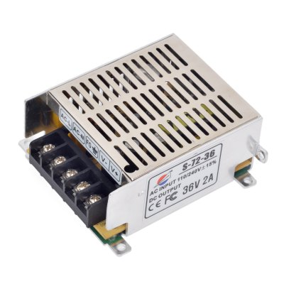 S - 72 - 36 72W 36V / 2A Switch Power Supply Driver for LED Light and Surveillance Security Camera ( 110  -  220V )