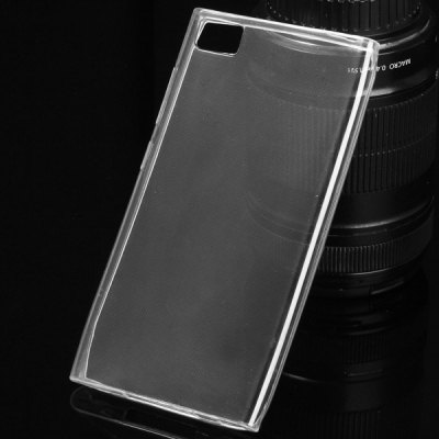 TPU Material Ultrathin Transparent Phone Back Cover Case for Xiaomi 3