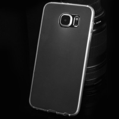 ФОТО TPU Material Ultrathin Transparent Phone Back Cover Case for Samsung Galaxy S6 G9200