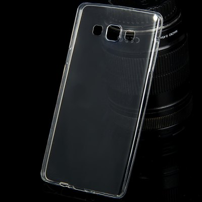 TPU Material Ultrathin Transparent Phone Back Cover Case for Samsung Galaxy A7