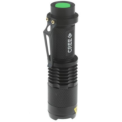 Гаджет   Zweihnder SK98 Cree XPE Q5 450Lm 3 Modes Zoomable LED Flashlight LED Flashlights