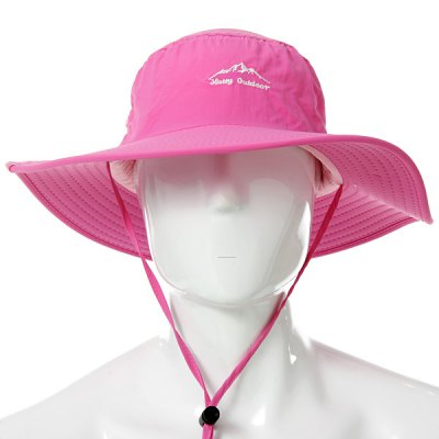 Unisex Hatty Adjustable Quick Dry Cap One Size in Large BongraceHats and Scarfs<br>Unisex Hatty Adjustable Quick Dry Cap One Size in Large Bongrace<br><br>Type: Large bongrace<br>For: Outdoor<br>Functions: Windproof, Soft-touch, Sun protection, Sun Block, Stylish<br>Size: One Size<br>Color: Green, Black, Pink, Blue<br>Product weight   : 0.079 kg<br>Package weight   : 0.097 kg<br>Product size (L x W x H)   : 36.00 x 36.00 x 13.00 cm / 14.15 x 14.15 x 5.11 inches<br>Package size (L x W x H)  : 37.00 x 37.00 x 2.00 cm / 14.54 x 14.54 x 0.79 inches<br>Package contents: 1 x Quick Dry Cap