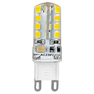 Гаджет   2 x 3W G9 SMD 3528 32 LEDs 190Lm Silicone Corn Bulb Chandelier Spotlight ( 3000K 220V ) LED Light Bulbs