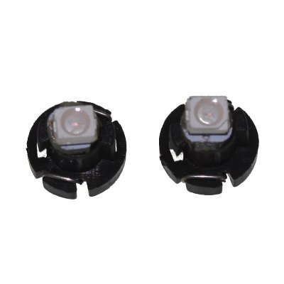2 x Sencart T3 SMD - 3528 Red Light LED Car Lamp Dashboard Bulb ( 0.5W DC 12 - 16V ) - SENCARTLED Accessories<br>2 x Sencart T3 SMD - 3528 Red Light LED Car Lamp Dashboard Bulb ( 0.5W DC 12 - 16V )<br><br>Brand: Sencart<br>Type: Car Light<br>Car light type: Instrument Light, Side Marker Light<br>Connector: T3<br>Lumens: 4 - 8Lm<br>LED: 1<br>Available Light Color: Blue, Red, Cold White<br>Wattage (W): 0.5<br>Voltage (V): DC 12-16V<br>Features: High Output, Warning Strobe, Easy to use, Low Power Consumption<br>Certificate: CE<br>Product weight: 0.003 kg<br>Package weight: 0.06 kg<br>Product size (L x W x H): 0.8 x 0.8 x 0.8 cm / 0.31 x 0.31 x 0.31 inches<br>Package size (L x W x H): 4 x 4 x 4 cm / 1.57 x 1.57 x 1.57 inches<br>Package Contents: 2 x T3 LED Car Light