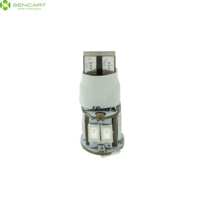 Гаджет   Sencart T10 W5W 5W SMD 5730 11 LEDs Car Bulb 2 Modes Canbus Light ( Red Light ) LED Light Bulbs