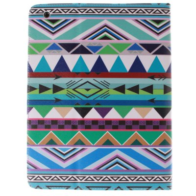 Гаджет   Stand Design Minority Style Triangle Pattern PU and TPU Cover Case with Card Holder for iPad 2 / 3 / 4 iPad Cases/Covers