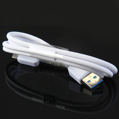 1m Round USB 3.0 Interface Charge and Sync Cable for Samsung Galaxy Note 3 N9100 etc.