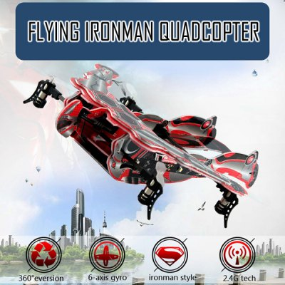 SKY HERO 1326B Ironman Style 6 Axis Gyro 2.4G 4CH RC Quadcopter with 3D Eversion
