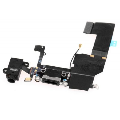 Dock Connector Charging USB Port and Headphone Audio Replacement Flex Cable for iPhone 5C