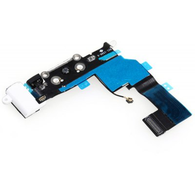 Charging Port and Headphone Audio Replacement Flex Cable for iPhone 5S