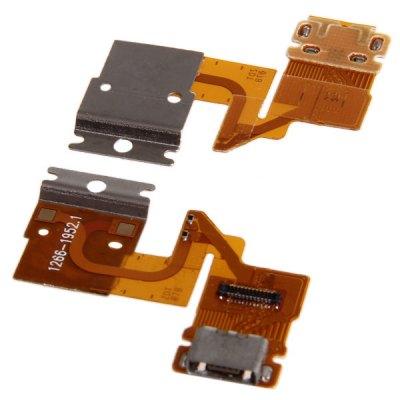Dock Connector Charging USB Port Replacement Flex Cable for Sony Xperia Tablet Z