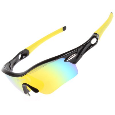 Гаджет   ROCKBROS Super Resilience Outdoor Sports Colorful Polarized Bicycle Sun Glasses for Men / Women Cycling Sunglasses