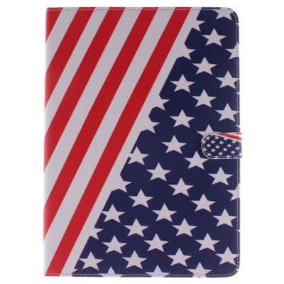 Гаджет   Stand Design Stars and Stripes Pattern PU and TPU Cover Case with Card Holder for iPad Air iPad Cases/Covers