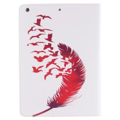 Stand Design Red Feather Pattern PU and TPU Cover Case with Card Holder for iPad mini / 2 / 3iPad Cases/Covers<br>Stand Design Red Feather Pattern PU and TPU Cover Case with Card Holder for iPad mini / 2 / 3<br><br>Compatible for Apple: iPad mini 2, iPad Mini, iPad mini 3<br>Features: With Credit Card Holder, Cases with Stand, Full Body Cases<br>Material: PU Leather, TPU<br>Style: Pattern<br>Color: Multi-Color<br>Product weight : 0.170 kg<br>Package weight : 0.250 kg<br>Product size (L x W x H): 20.5 x 14 x 1.5 cm / 8.06 x 5.50 x 0.59 inches<br>Package size (L x W x H) : 21.5 x 15 x 2.5 cm / 8.45 x 5.90 x 0.98 inches<br>Package Contents: 1 x Case