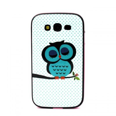 Гаджет   Owl Pattern TPU Phone Back Cover Case of Detachable Design for Samsung Galaxy Grand Neo I9060 Samsung Cases/Covers