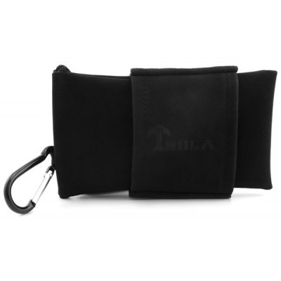 Mini Storage Bag with Buckle Multiple Pockets Organizer for TESLA Electronic Cigarette