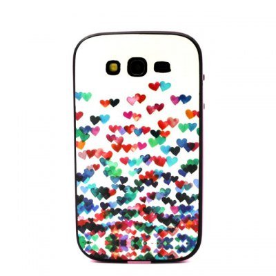 Colorful Heart Pattern TPU Phone Back Cover Case of Detachable Design for Samsung Galaxy Grand Neo I9060Samsung Cases/Covers<br>Colorful Heart Pattern TPU Phone Back Cover Case of Detachable Design for Samsung Galaxy Grand Neo I9060<br><br>Compatible models: Samsung Galaxy Grand Neo I9060<br>Features: Back Cover<br>Material: PC, TPU<br>Style: Pattern<br>Product weight: 0.030 kg<br>Package weight: 0.110 kg<br>Product size (L x W x H) : 14.5 x 7.71 x 1 cm / 5.70 x 3.03 x 0.39 inches<br>Package size (L x W x H): 15.5 x 8.71 x 2 cm / 6.09 x 3.42 x 0.79 inches<br>Package Contents: 1 x Case