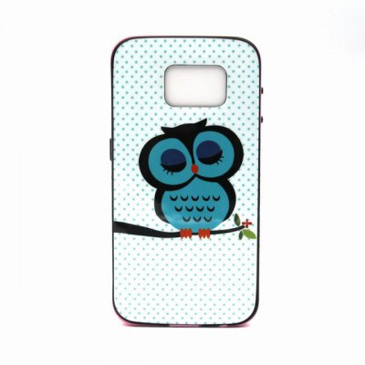 Гаджет   Owl Pattern TPU Phone Back Cover Case of Detachable Design for Samsung Galaxy S6 G9200 Samsung Cases/Covers