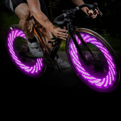 A08 LED Flash Tyre Wheel Valve Cap Light Bike Bicycle Motorbicycle Lamp 15 Patterns in Changing