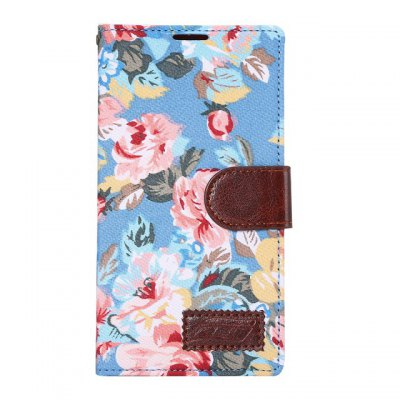 Гаджет   Stand Design Floral Pattern PU and PC Phone Cover Case with Card Holder for LG G4 Other Cases/Covers