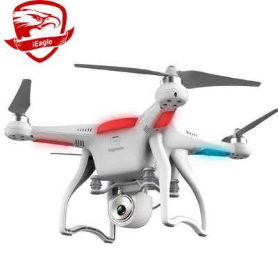 Гаджет   2.4GHz iEagle Explorer 6 Channel 6 Axis Gyro 16.0MP Aerial Photograph Quadcopter Hovering / GPS / FPV / Gimbal Control UFO RC Quadcopters