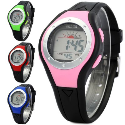 Гаджет   Beita 8602B Water Resistant Colorful Lights Wristwatch LED Digital Kids Watch for Sports Sports Watches