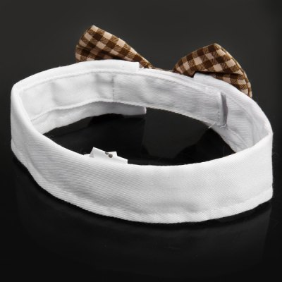 Bowknot Pattern Dog Cat Pet Bow Tie Necktie Collar Accessory