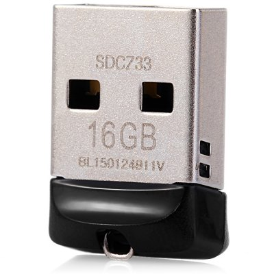 SanDisk CZ33 High Speed Flexible 16GB Cruzer Fit USB Flash Drive For P