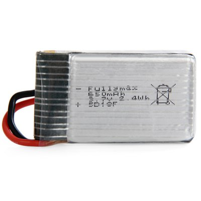 ФОТО 5 x 3.7V 650mAh LiPo Batterry for FY326 SYMA X5C X5SC X5SW F2C RC Quadcopter