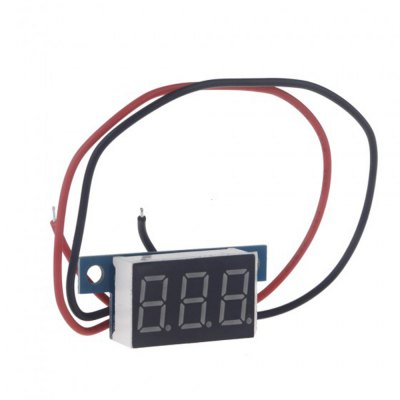 Гаджет   TS - IA57 Mini DC 3.3 - 30V Yellow LED Panel Digital Display Voltage Meter Voltmeter with 2 Wires DIY Projects Multimeters & Fitting
