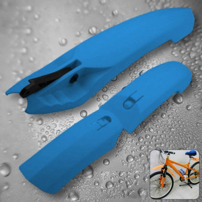 Kheng Practical Bicycle Mudguard / Mud Fender with Tail Lamp