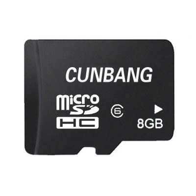 CUNBANG 8GB Class 6 Micro SD TF Memory Card