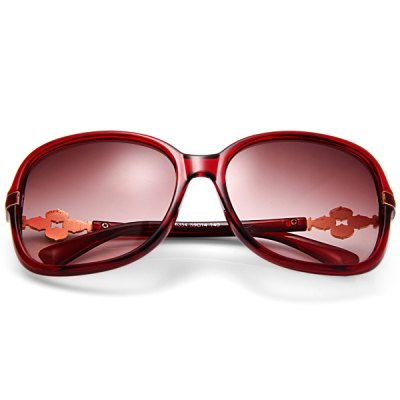 6354  -  140 Outdoor Sports UV400 Anti - UV Lens Wine Red Frame Sun Glasses for Women от GearBest.com INT