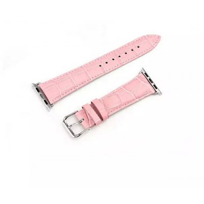 Buckle Leather Watch Band for Apple Watch 38mm
