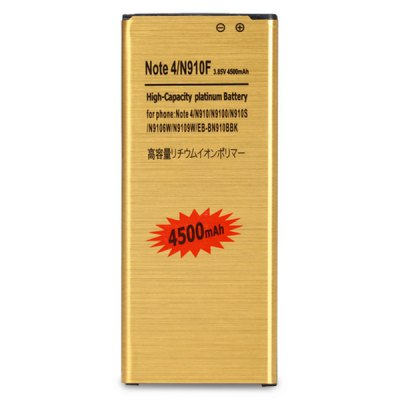 Гаджет   4500mAh High Capacity Replacement Battery for Samsung Galaxy Note 4 N910F Samsung Batteries