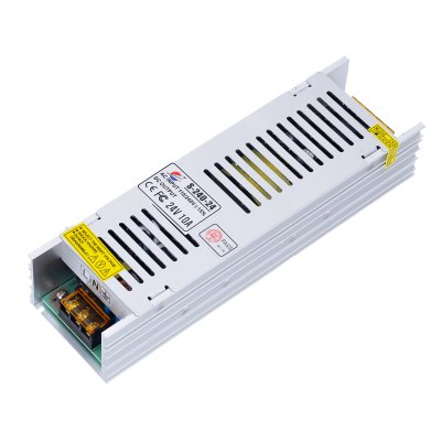 S - 240 - 24 240W 24V / 10A Switch Power Supply Driver for LED Light and Surveillance Security Camera ( 110  -  220V )