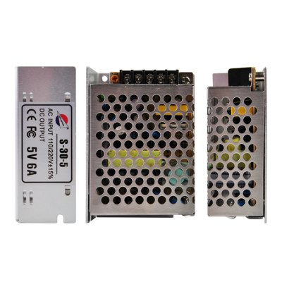 ФОТО S - 30 - 5 30W 5V / 6A Switch Power Supply Driver for LED Light and Surveillance Security Camera ( 110  -  220V )